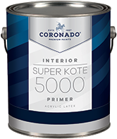 Hattiesburg Paint and Decorating Super Kote 5000 Primer is a vinyl-acrylic primer and sealer for interior drywall and plaster. It is quick drying and is easy to apply. Super Kote 5000 Primer demonstrates excellent holdout, providing a strong foundation for latex or oil-based finishes.boom