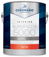 Hattiesburg Paint and Decorating Super Kote 5000 Zero is designed to meet the most stringent VOC regulations, while still facilitating a smooth, fast production process. With excellent hide and leveling, this professional product delivers a high-quality finish.boom