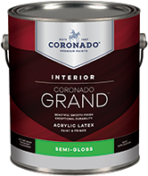 Hattiesburg Paint and Decorating Coronado Grand is an acrylic paint and primer designed to provide exceptional washability, durability and coverage. Easy to apply with great flow and leveling for a beautiful finish, Grand is a first-class paint that enlivens any room.boom