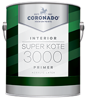 Hattiesburg Paint and Decorating Super Kote 3000 Primer is an easy-to-apply primer optimized for high productivity jobs. Super Kote 3000 is ideal for use in rental properties. This high-hiding, fast-drying primer provides a strong foundation for interior drywall and cured plaster and can be topcoated with latex or oil-based paint.boom